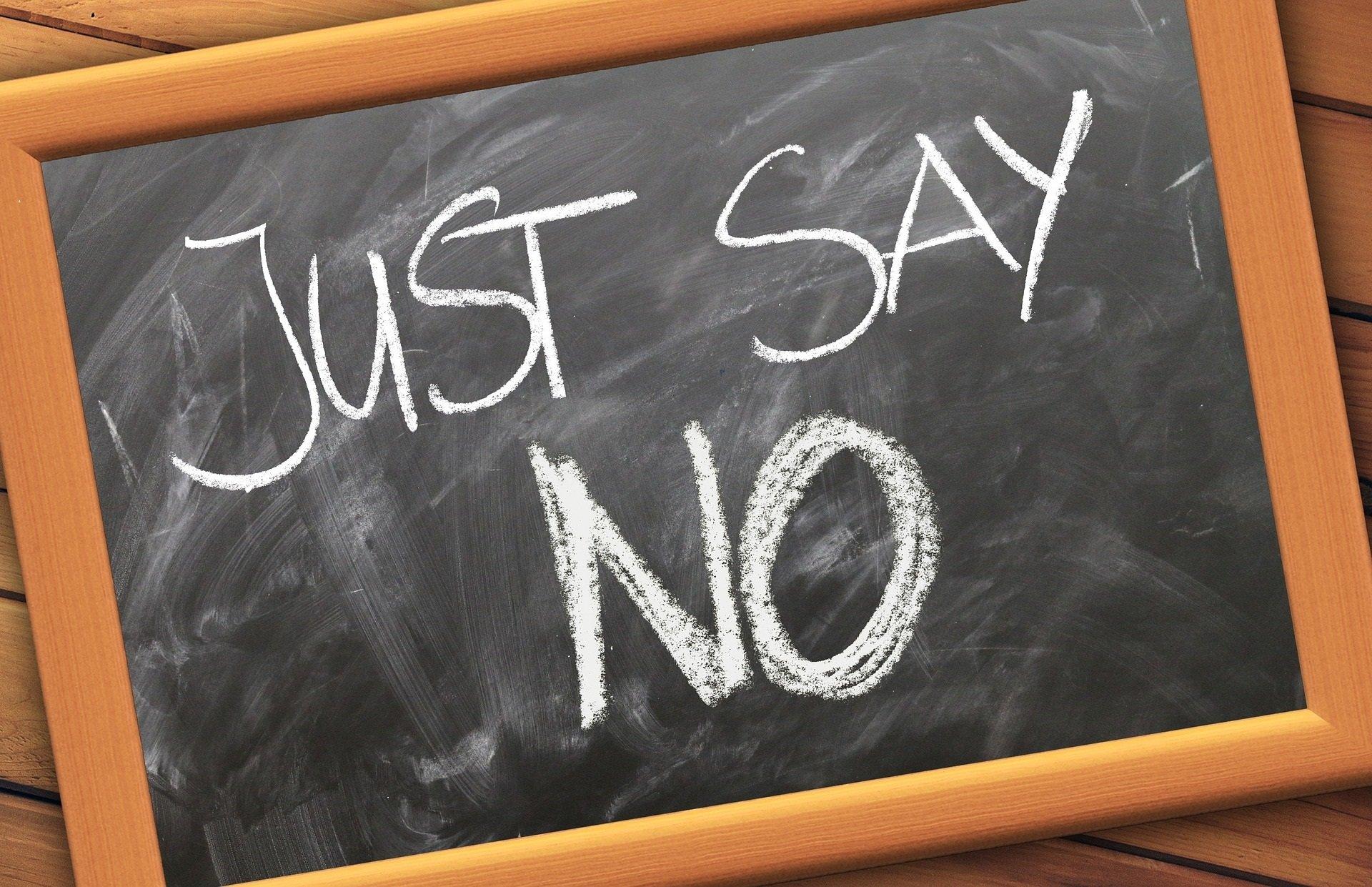 """Imparare a dire """"no"""""""